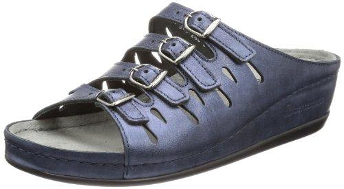 Berkemann Damen Hassel Pantoletten, Blau (blau 364), 40 EU
