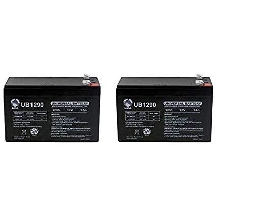 UB1290 12V 9Ah Compatible Battery for APC UPS Computer Backup Power - 2 Pack