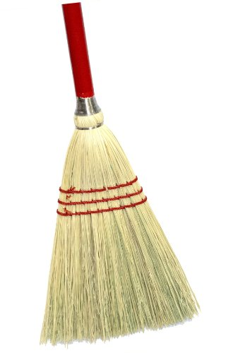 "Magnolia Brush 462 Lobby Broom, All Corn Bristles, 34"" Overall Length (Case of 12)"