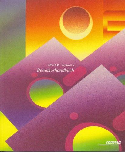 Compaq MS-DOS 5 (1991) [Programmpaket]: Benutzerhandbuch - Einführung in MS-DOS Version 5.0 - Kurzreferenz - Neue Funktionen - Länderanpassung - Arbeiten mit der MS-DOS Shell - Disketten 3,5' (geöffnet) und 5,25' (ungeöffnet) - Schmuckschuber