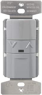 Greengate OSW-P-010-G Multi Volt Occupancy Dimmer Sensor, Gray