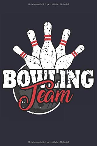 Bowling Notizbuch: Ein cooles Notizbuch für alle Bowling Spieler