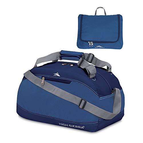 High Sierra Pack-N-Go Duffel Bag, 24-Inch, Blue Velvet