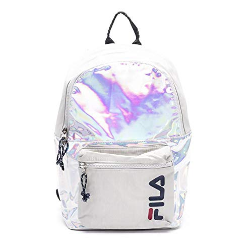 FILA ZAINO DONNA ART685097 BACKPACK S'COOL (ARGENTO)