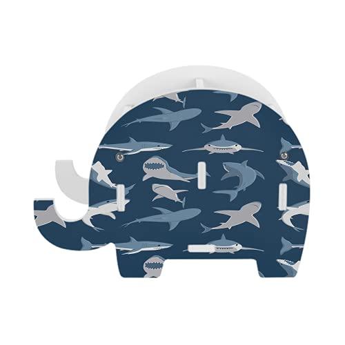 Blue Shark 15 Schreibtisch-Utensilien,...