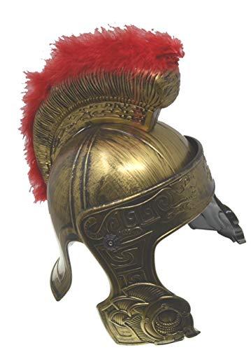 VENTURA TRADING HT3 Casco centuriano con Protector Facial mvil Casco de Gladiador Casco Romano Armadura Romana Espartano Griego Gladiador Antiguo Guerrero Armadura