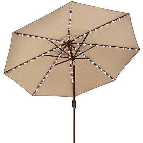 EliteShade Sunbrella Solar Umbrellas 9ft Market Umbrella...