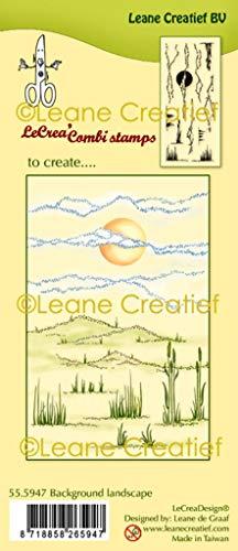 LeCreaDesign Clear Stamp Landschaft Hintergrund
