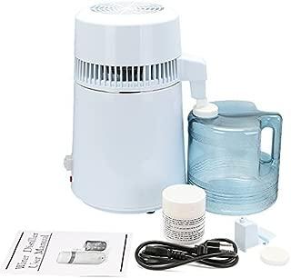 Autovictoria Destilador de agua Purificador Water Distiller Destilador de agua pura Filtros Destilación de agua 4L de acero inoxidable interno con botella de colección