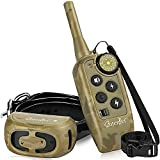 cuterpet Dog Training Collar - Shock Collars for Dogs with 2000Ft Remote Range,Electric Dog Collar for Small Medium and Large Dogs, Cat Training Shock Collar,Waterproof Rechargeable Collar