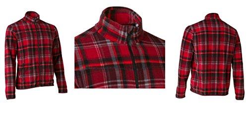 Quechua Exclusive Herren Fleece Jacke Winterjacke Sweatshirt Forclaz 200, Gr. S, M Outdoor Fleecejacke (S /88-91 cm)