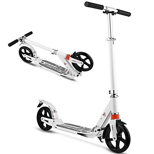 WeSkate Scooter for Adults/Teens, Big Wheels Scooter Easy...