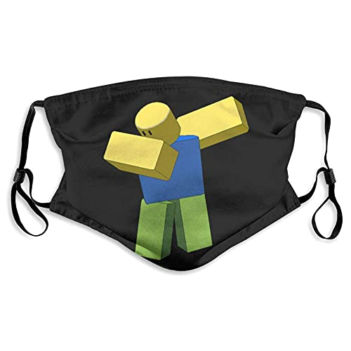 CDKZ Dab_Bing Ro_blox Masque de protection réglable contre la pollution de l'air Taille M
