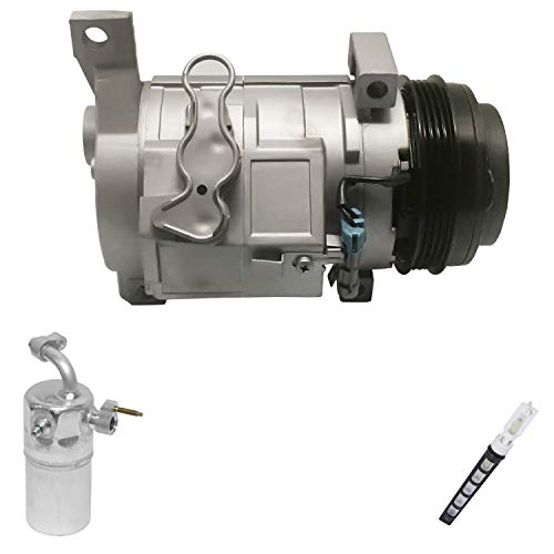 RYC Remanufactured AC Compressor Kit KT D052 (Only Fits Vehicles Without Rear A/C)