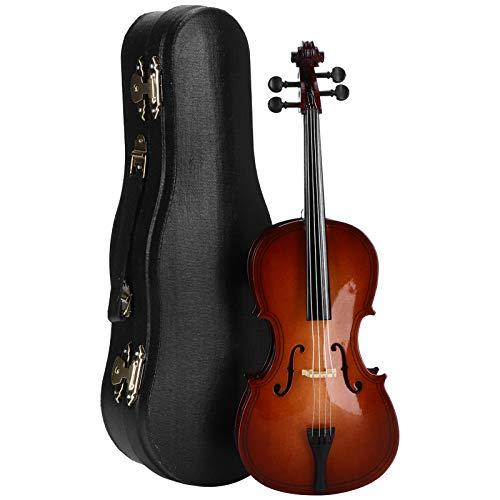 Modelo de violonchelo de tilo 23cm / 9.1in Práctico Mini modelo de violonchelo Mini para decoración para dar regalos