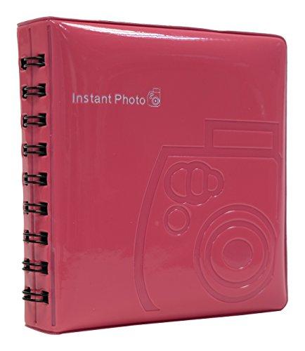 Fujifilm fotoalbum voor Fujifilm Instax Mini Prints, Fotoalbum, frambozen, Mini Film Album