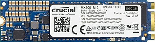 Crucial MX300 1TB 3D NAND SATA M.2 (2280) Internal SSD - CT1050MX300SSD4