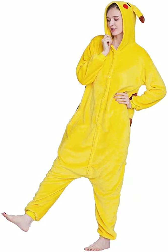Pikachu Super sale period limited Animal Pajamas Adult Cartoon Cosplay One-Piece Max 55% OFF