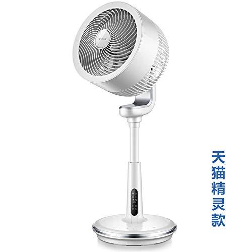 XIAOTAIZINAI Airmate Bodenluft Umwälzventilator Turbine Konvektionsventilator Landung Leafless Haushalt Vertikaler Desktop Kleiner elektrischer Ventilator Mute-White_EU