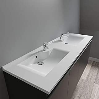 Amazon.fr : meuble salle de bain double vasque 140