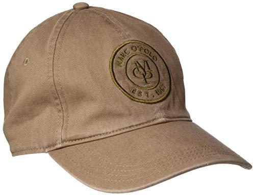 Marc O'Polo Herren 026810001150 Baseball Cap, Braun (Cocoa Brown Braun), One Size (Herstellergröße: OSO)