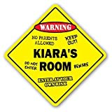 KIARA'S ROOM Sticker Sign kids bedroom decor door children's name boy girl gift - Sticker Graphic Personalized Custom Sticker Graphic