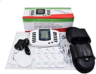 Set Stimulator Full Body Relax Muscle Massager Pulse Tens Acupuncture Therapy Slippers Gloves With Electrode Pad