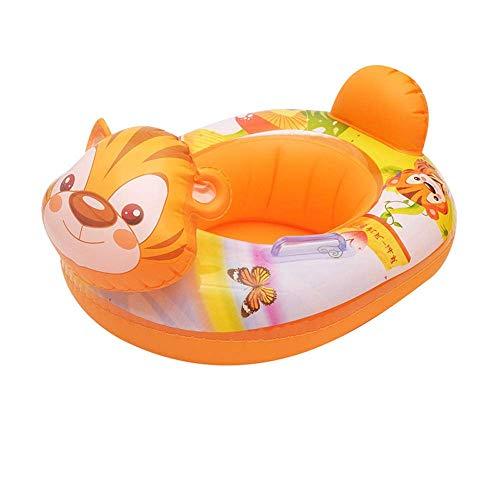 YANGSANJIN Schwimmring Baby aufblasbare Flamingo Einhorn Sitzring Rollover Griff Junge Mädchen Pool Strand Wasser schwimmende Spielzeuge, Einhorn Donut Kreis
