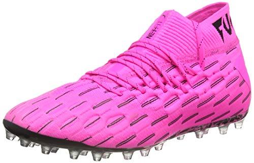 PUMA Future 6.1 Netfit MG, Zapatillas de Fútbol Unisex Adulto, Rosa (Luminous Pink Black), 44 EU