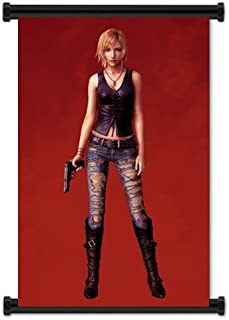 Parasite Eve The 3rd Birthday Game Aya Brea Fabric Wall Scroll Poster (31