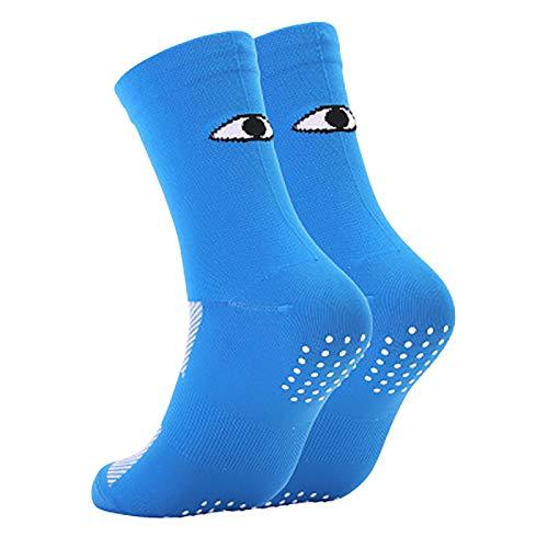 Vobery Calcetines Deportivos,Tendencia de Moda Unisex Calcetines Absorbentes de Humedad para Adultos Calcetines de Baloncesto para Hombres Calcetines Deportivos Acolchados Calcetines