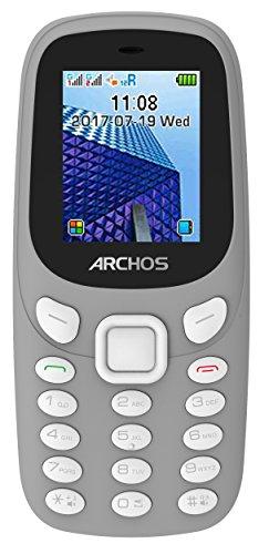 Archos 503555 Core 18f Handy und MP3-Player, Taschenlampe, Dual-SIM, Bluetooth Grau