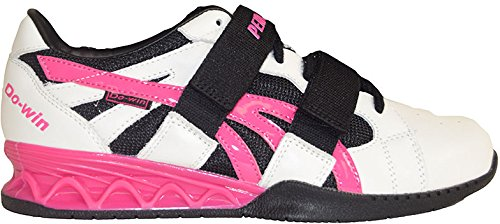 Pendlay Women's 15PWHTPNK - Weightlifting Shoes 12 M White-Pink