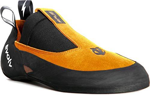 Evolv Rave Climbing Shoe - Men's Golden Yam 8.5