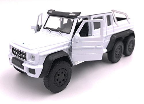 H-Customs Welly Mercedes Benz G63 6x6 AMG Model Car License Prodotto in Scala 1:34 Colore Casuale
