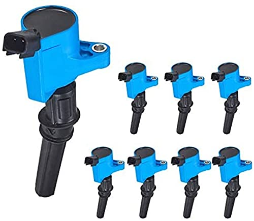 ENA Set of 8 Premium Ignition Coil Pack Compatible with Ford Lincoln Mercury...