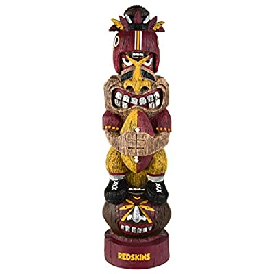 FOCO NFL Washington Redskins Unisex Tiki FigurineTiki Figurine, Team Color, One Size