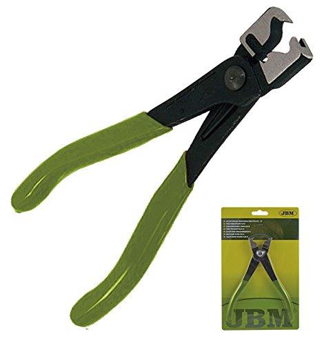 JBM 52791 Alicate especial abrazaderas tubo tipo clic, Multicolor