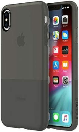 """lowest Incipio outlet online sale NGP Translucent Case for iPhone iPhone Xs Max (6.5"""") with Flexible outlet sale Shock-Absorbing Drop-Protection - Black sale"""