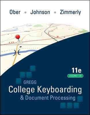 Gregg Coll Keybrdg Etc (Kit 4) (Lessons1-20) (GREGG...