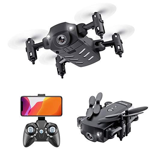 LYHLYH Mini Drone Pliant, 4k Photographie aérienne Quadcopter Hauteur Fixe, appareils de Commande à Distance Longue Endurance, 15 Minutes Temps de vol, pour Les Enfants et Adultes