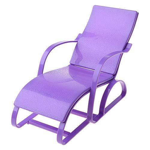 lijun New Beach Lounge Chair Doll House Furniture For Babie Doll Accessories