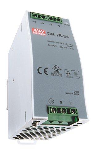 Schaltnetzteil 24 Volt, 3,2 Ampere, 75 Watt für Hu