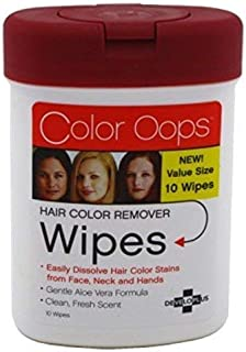 Developlus Color Oops Color Remover Wipes 10 Count (2 Pack)
