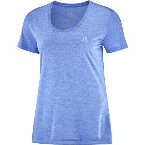 SALOMON Agile Camiseta Mujer Trail Running Sanderismo