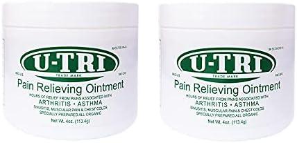 U-tri online shop Pain Relieving Ointment 4oz of Pack 2 Super intense SALE