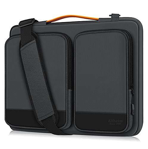 Alfheim 14 Pollici Custodia Borsa PC, Impermeabile Antiurto Leggero Cartella, Protettiva per Notebook a 360° Compatibile con 15 Pollici Il Nuovo MacBook PRO USB-C A1990 A1707