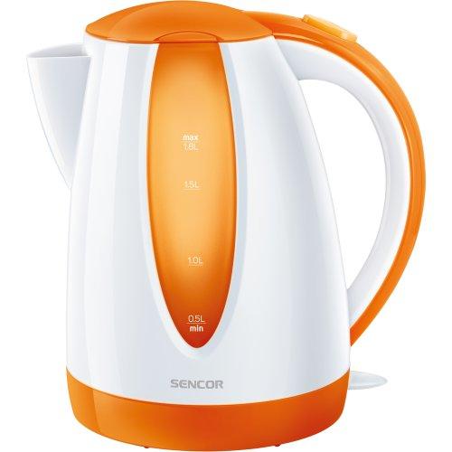 Sencor SWK 1813OR - Hervidor electrico, con capacidad de 1,8 litros, color naranja