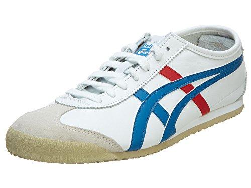 Onitsuka Tiger Unisex Mexico 66 Shoes, 10.5W, White/Blue