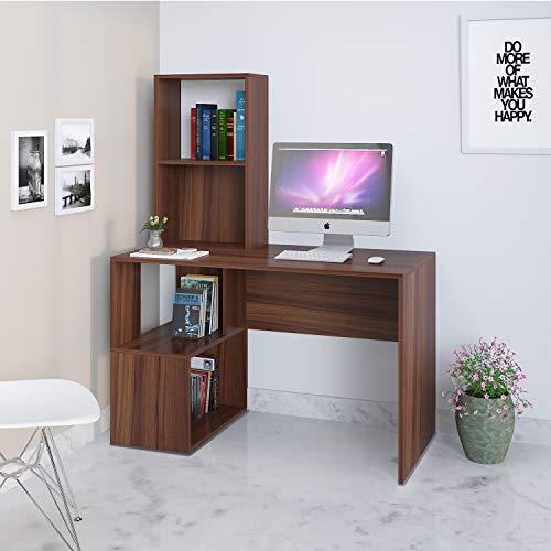 Klaxon Vienna Engineered Wood Study Table, Laptop,...